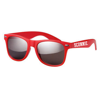 Sconnie Mirrored Sunglasses - Red
