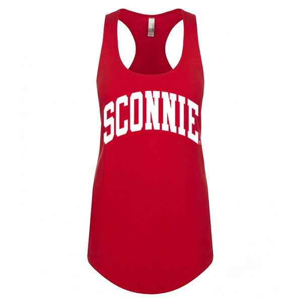 Original Sconnie Women's Ideal Racerback Tank - Red