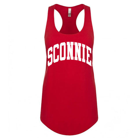 Original Sconnie Ideal Racerback Tank - Red