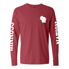 Load image into Gallery viewer, Sconnie Nation Double Sleeve CC Long Sleeve - Crimson