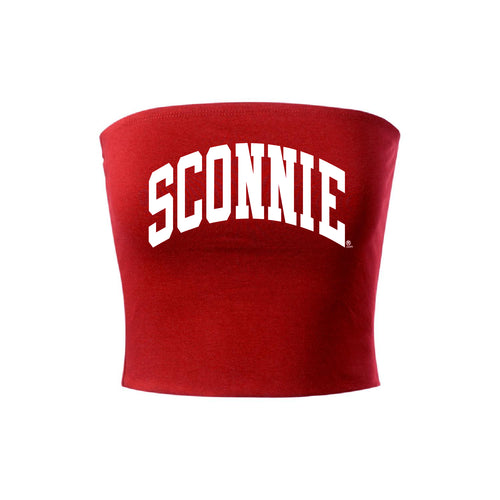 Sconnie Arch Tube Top - Red