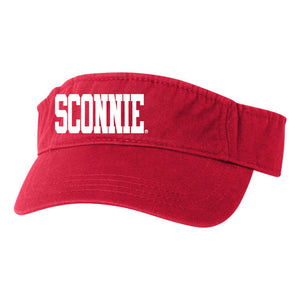 Sconnie Visor - Red