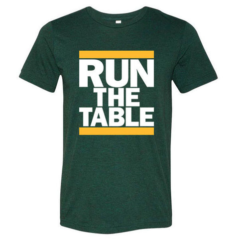 Run the Table Triblend - Green