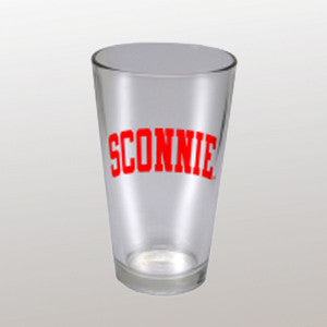 Sconnie Pint Glass - Clear