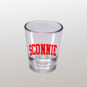 Sconnie Shot Glass - Clear