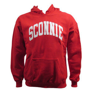 Sconnie Hooded Sweatshirt - Red