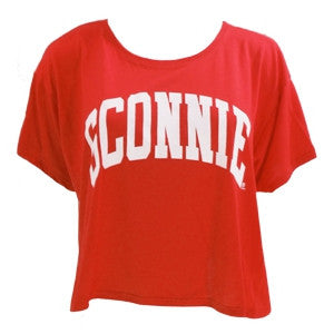 Sconnie Flowy Boxy Tee - Red