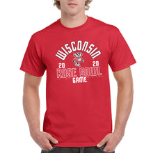 Load image into Gallery viewer, Wisconsin Rose Bowl 2020 T Shirt - Red