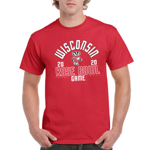 Wisconsin Rose Bowl 2020 T Shirt - Red