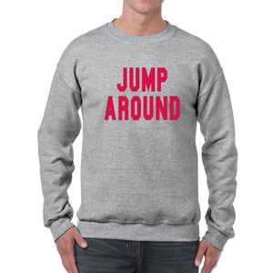 Jump Around Crewneck - Sport Grey