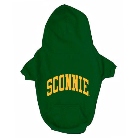 Sconnie Dog Hoodie - Forest