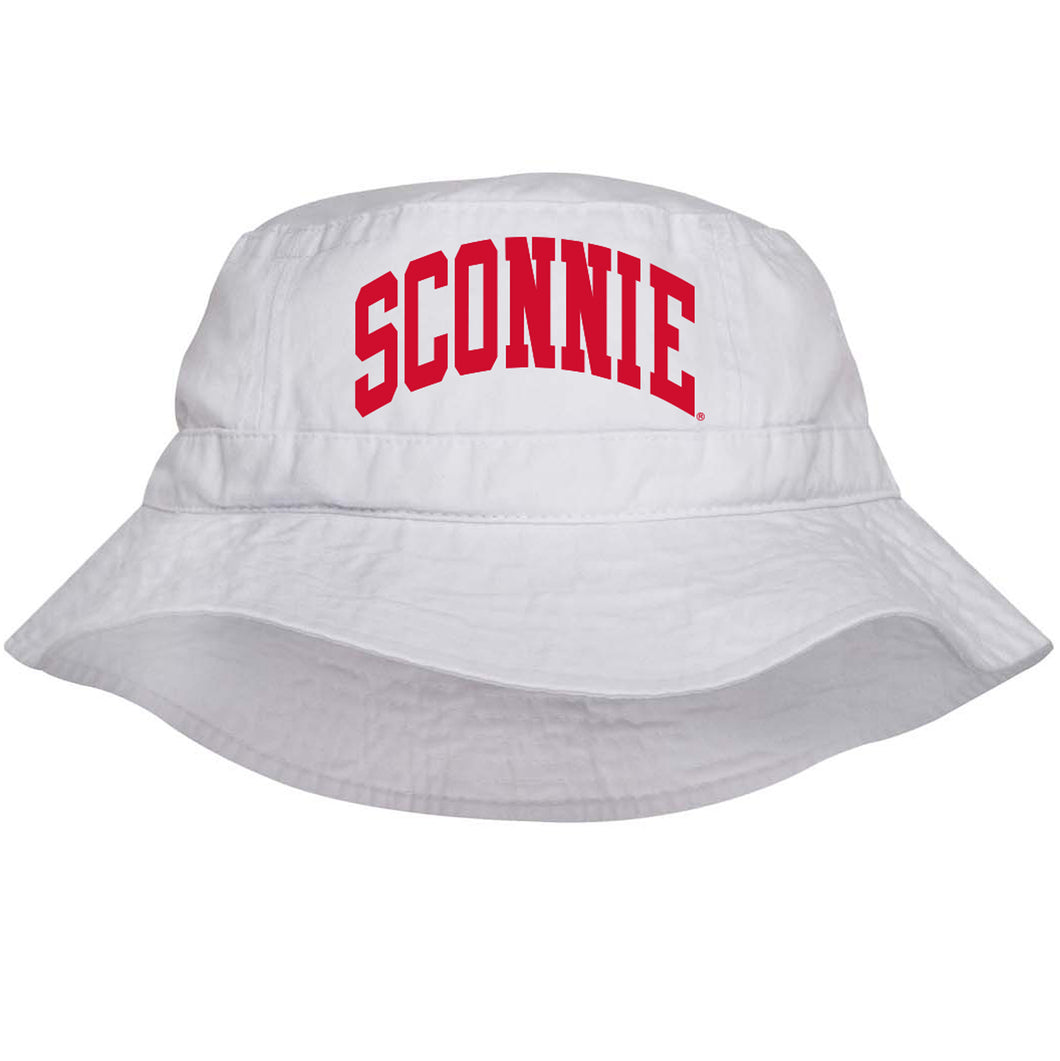 Sconnie Vacationer Bucket Hat - White