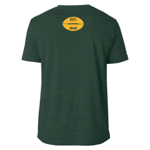 All WI Do Is Win Football Edition Poly-Cotton T-shirt - Heather Forest