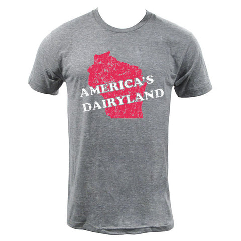 America's Dairyland - Athletic Grey
