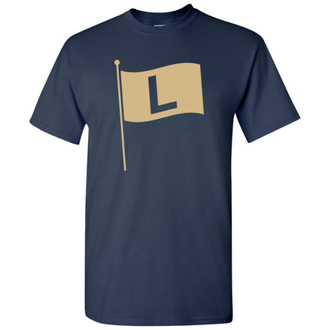 Chicago L Flag T-shirt - Navy