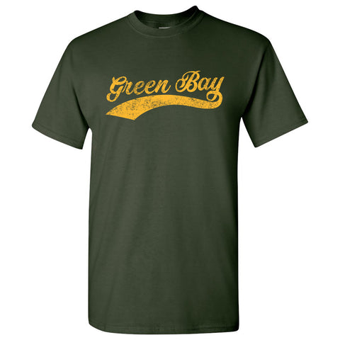 Green Bay City Script - Forest