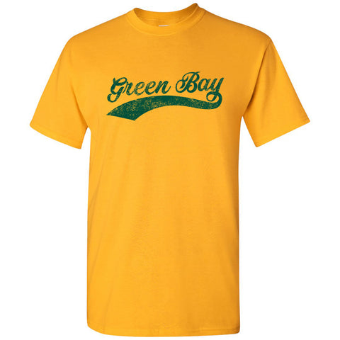 Green Bay City Script - Gold