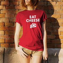 Load image into Gallery viewer, Eat Cheese Fondue T-Shirt - Red