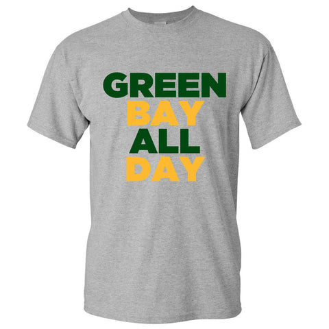 Green Bay All Day - Grey
