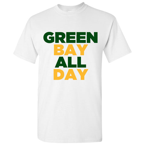 Green Bay All Day - White