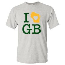 Load image into Gallery viewer, I Heart Green Bay Packers - Ash