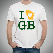 Load image into Gallery viewer, I Heart Green Bay Packers - White