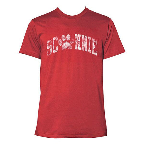 Sconnie Dane County Humane Society Poly-Cotton T-shirt - Heather Red