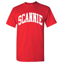 Load image into Gallery viewer, Original SCANNIE T-shirt - Red
