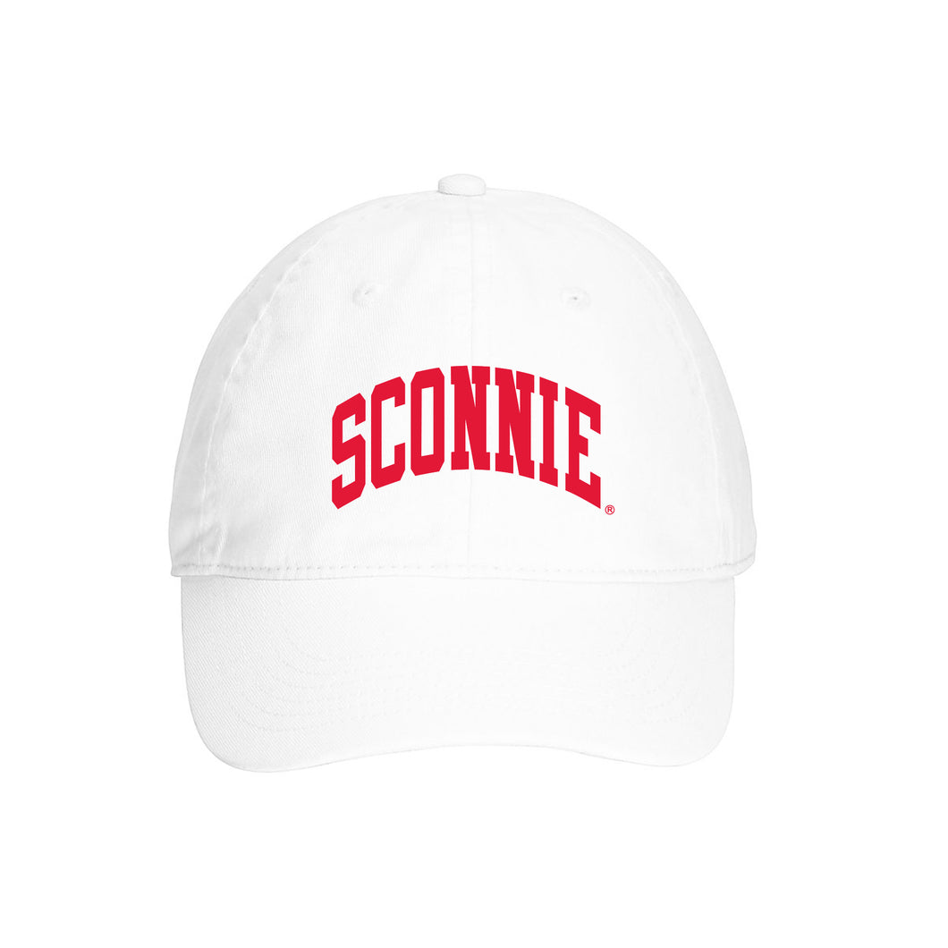 Sconnie Arch Comfort Colors Hat - White