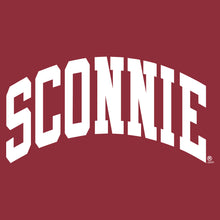 Load image into Gallery viewer, Sconnie Arch Comfort Colors Short Sleeve - Crimson