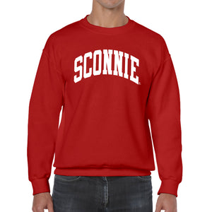 Original Sconnie Crewneck Sweatshirt - Red