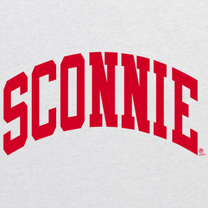 Sconnie Womens Triblend Racerback Tank - Heather White