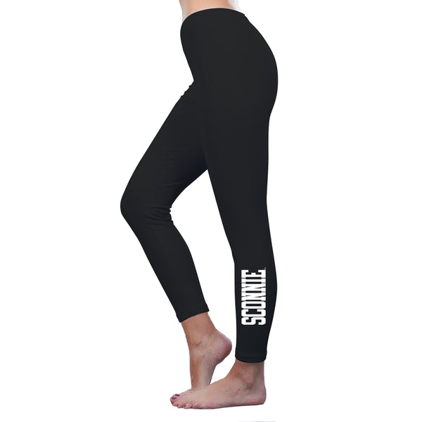 Sconnie Am App Spandex Jersey Leggings - Black