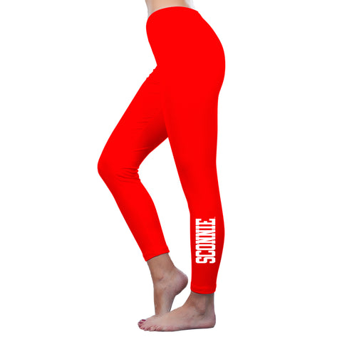 Sconnie Am App Spandex Jersey Leggings - Red