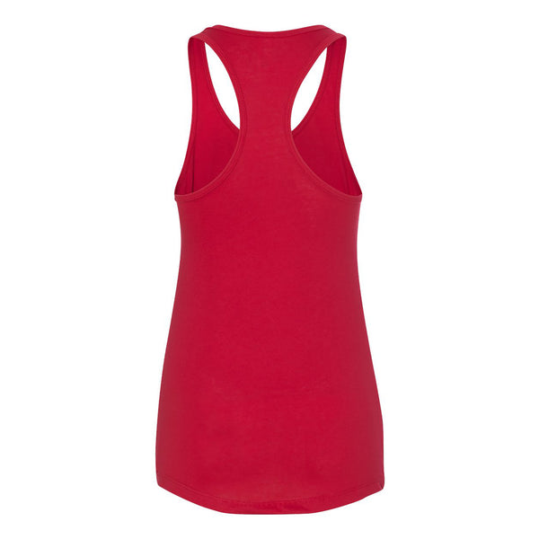 Sconnie Arch Am App Racerback - Heather Red