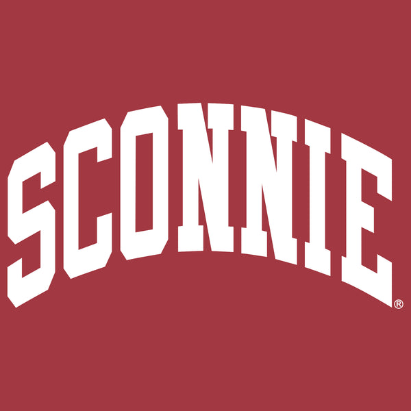 Sconnie Arch Comfort Colors Pocket Tank - Crimson