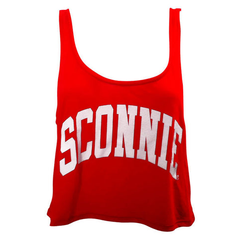 Sconnie Boxy Tank - Red