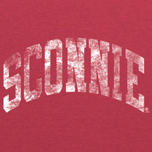 Load image into Gallery viewer, Vintage Sconnie Poly-Cotton T-shirt - Heather Red