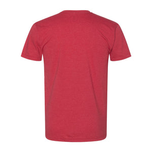 Vintage Sconnie Poly-Cotton T-shirt - Heather Red
