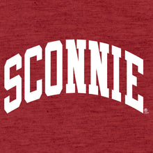 Load image into Gallery viewer, Sconnie Arch New Era Performance T Shirt - Red