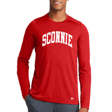 Load image into Gallery viewer, Sconnie Arch New Era Performance Long Sleeve - Red