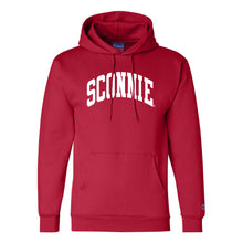Load image into Gallery viewer, Sconnie Arch Champion Hoodie - Red