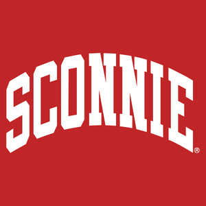 Sconnie Zip Hoodie - Red