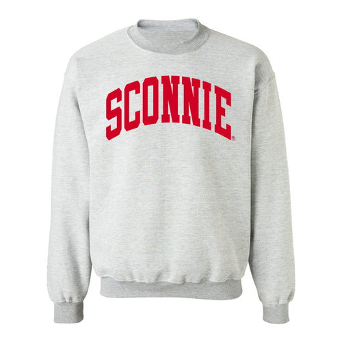 Sconnie Inside Out Crewneck Sweatshirt - Sport Grey