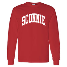 Load image into Gallery viewer, Sconnie Long Sleeve T-shirt - Red