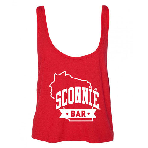 SCONNIEBAR Boxy Tank - Red