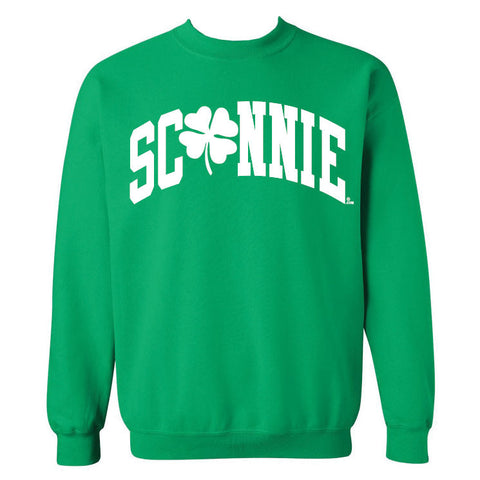 Sconnie Clover Crewneck Sweatshirt - Irish Green