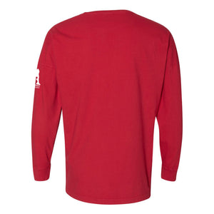 Sconnie DC Humane Society Drop Shoulder Long Sleeve - Red