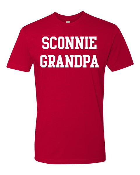 Sconnie Grandpa T-shirt - Red