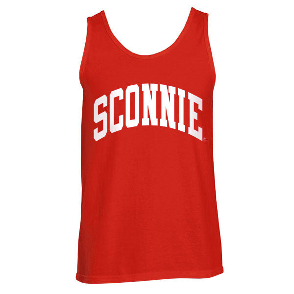 Sconnie Unisex Tank Top - Red